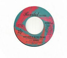 J.J. Barnes - Our Love Is In The Pocket c/w Hole in The Wall
